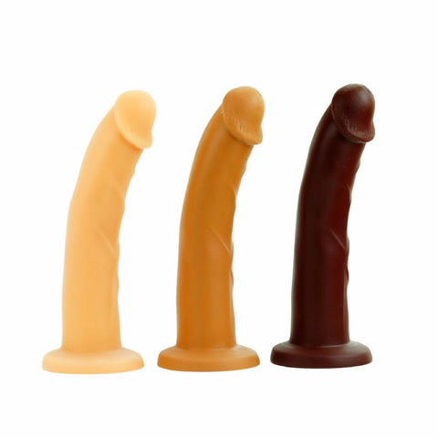 Pleasure Works Maven Dildo Vanilla Caramel and Chocolate
