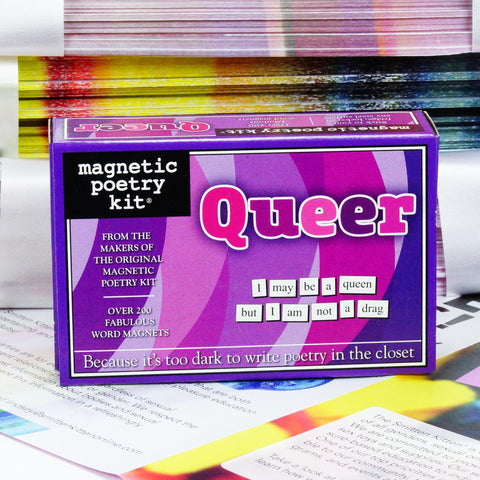 Magnetic Poetry Kit: QUEER