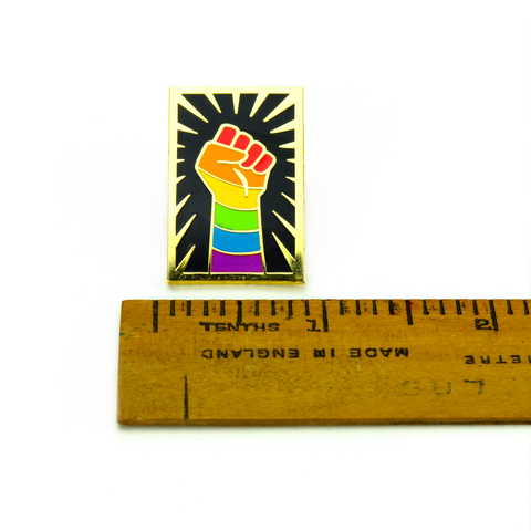 Rainbow Resist Pin