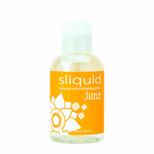 Sliquid Sizzle Warming Water Based Lube 4.2 ounce Bottle