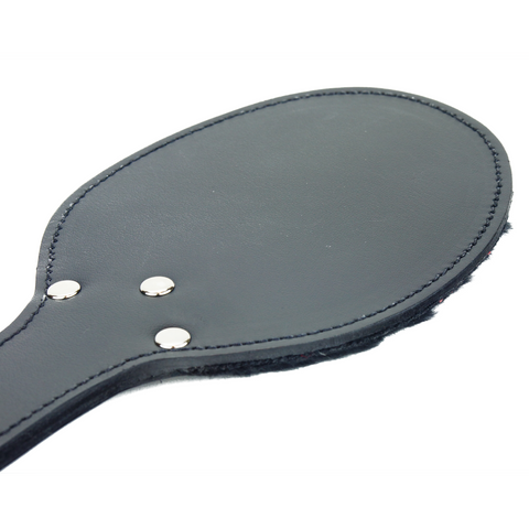 Small Fleece Lined Leather Paddle