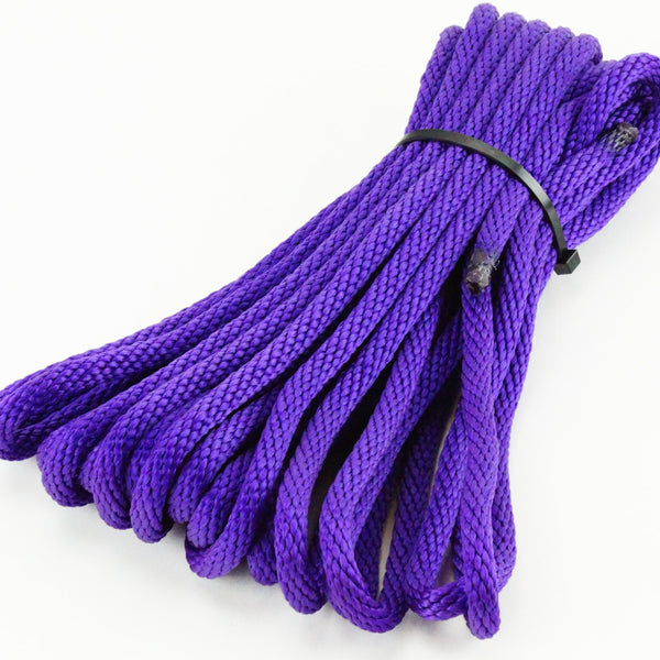 Agreeable Agony 5/16 inch Solid Braid MFP Bondage Rope Purple