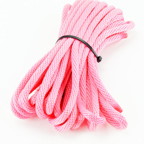 Agreeable Agony 5/16 inch Solid Braid MFP Bondage Rope Pink
