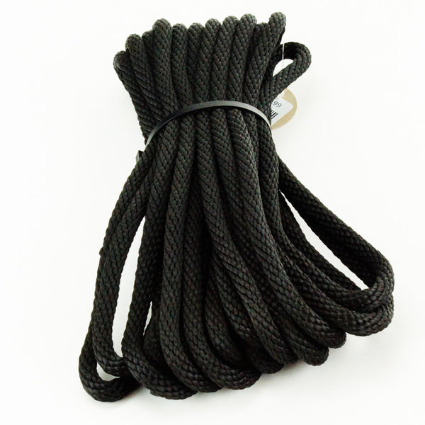 Agreeable Agony 5/16 inch Solid Braid MFP Bondage Rope Black