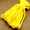 Agreeable Agony 5/16 inch Solid Braid MFP Bondage Rope Yellow