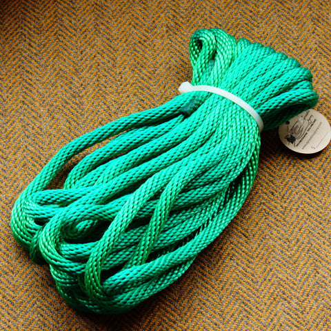 Agreeable Agony 5/16 inch Solid Braid MFP Bondage Rope Green
