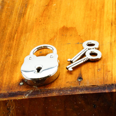 Round Lock with Keys