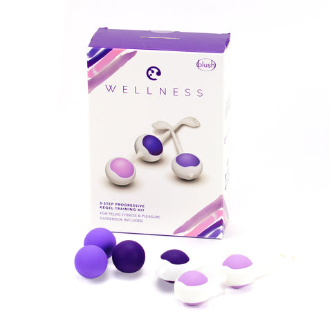 Wellness 3-Step Progressive Kegel Training Kit