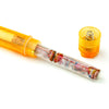 California Exotic Novelties Clit Exciter Vibrator Orange and AAA Batteries