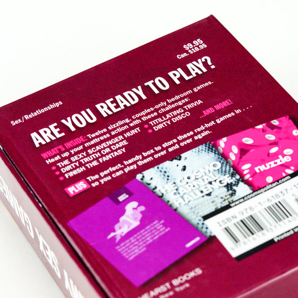 Cosmopolitan Hearst Books Cosmo's Steamy Sex Games Card Game