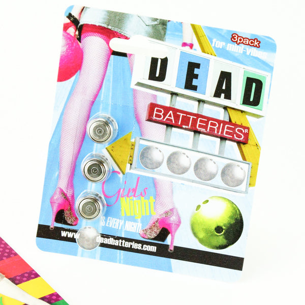Dead Batteries Button Cell Batteries