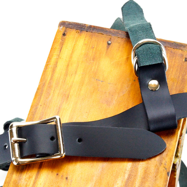 Kookie Int'l Leather Regimental Harness Black Buckles