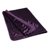 Liberator Fascinator Throw Plum