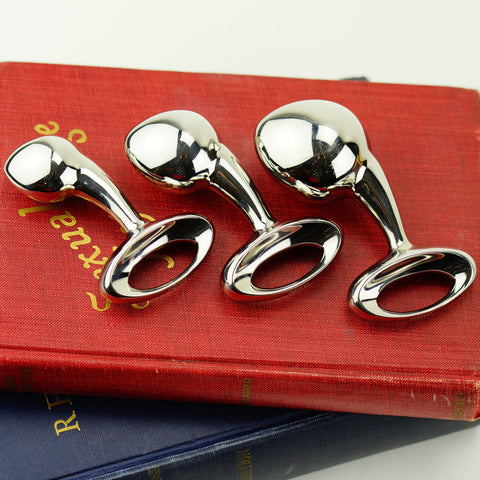 Njoy Pure Plug Butt Plug Stainless Steel Small Medium and Large