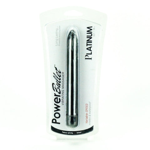 BMS Factory 5 Inch Platinum Power Bullet Vibrator Packaging