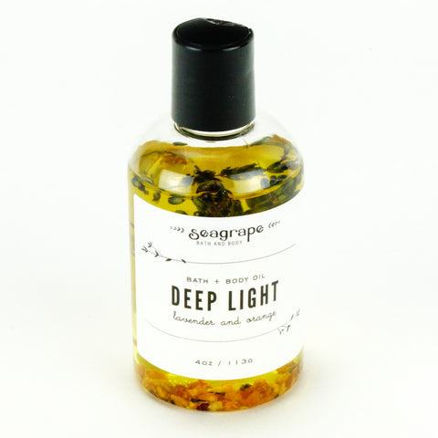 Seagrape Massage Oil Deep Light