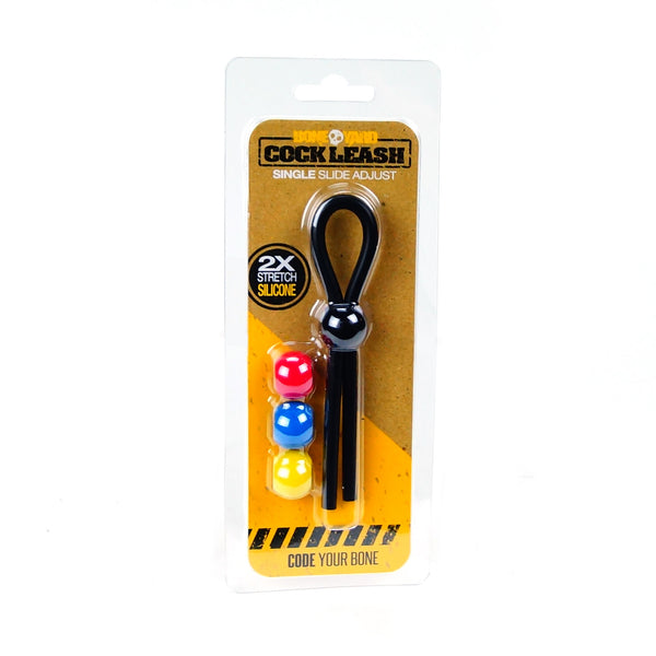 Cock Leash Single  Slide Adjustable