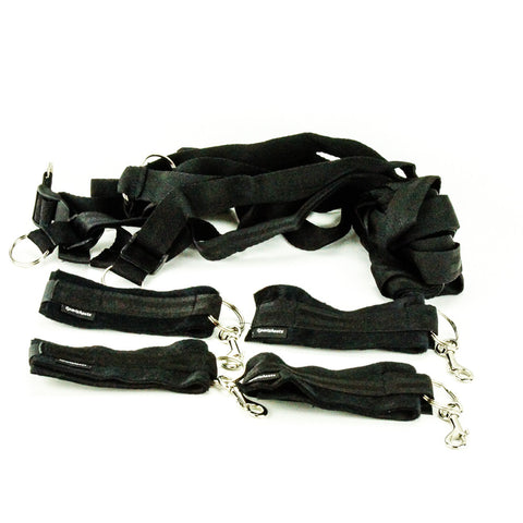 Sportsheets Under the Bed Restraint System Original Black