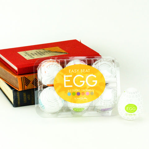 Tenga Egg Easy Beat Stroker 6 Pack