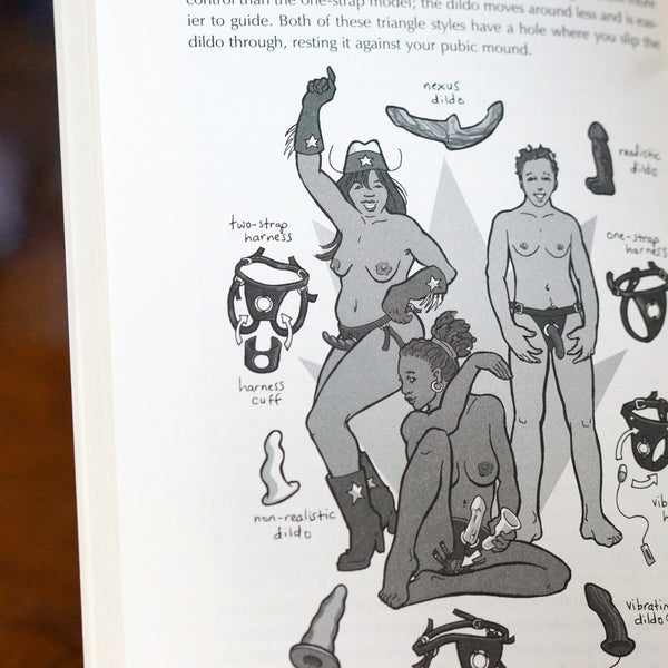 The Ultimate Guide to Anal Sex for Women by Tristan Taormino Illustration