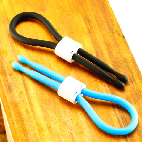 Tickler Buddy Cock Ring Black and Blue