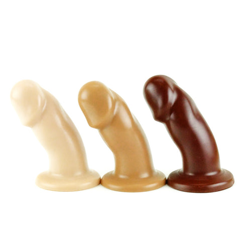Vixen Creations VixSkin Randy Dildo Vanilla Caramel and Chocolate