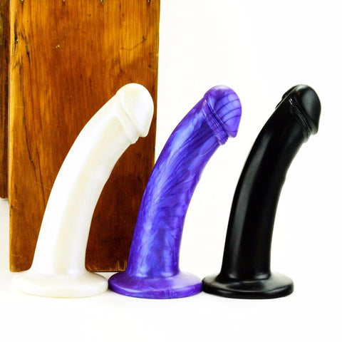 Vixen Creations Leo Dildo Black Purple and White