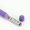 BMS Factory Wisteria Breeze Vibrator Purple Controls and AAA Batteries