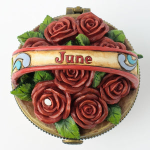 June Flower Basket