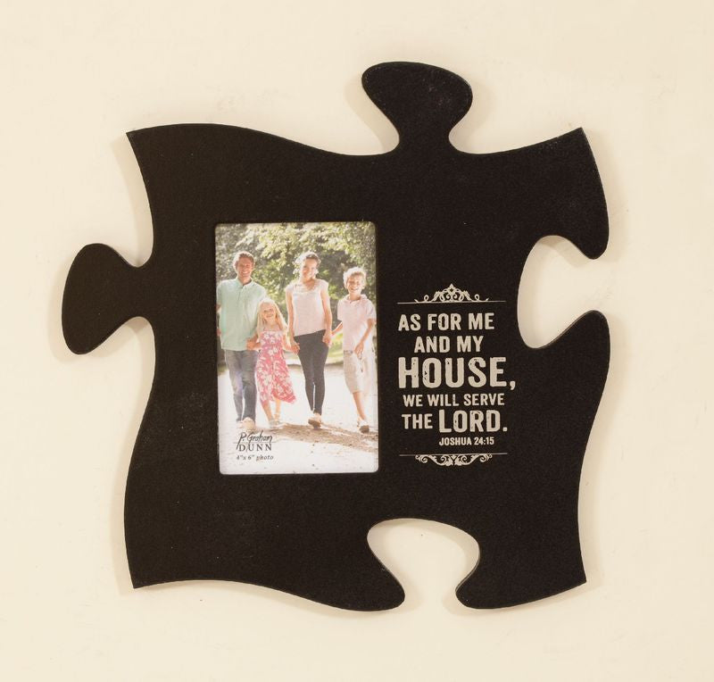 As For Me & My House Puzzle Frame - Perrotti\'s Country Barn