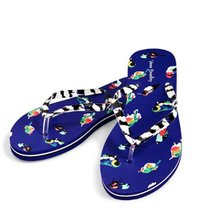 Mini Tody Birds Blue Small 5-6