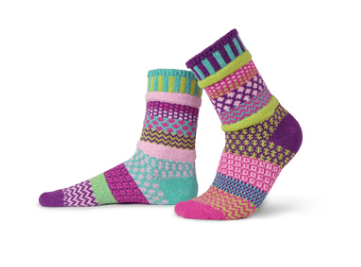 Dahlia Adult Crew Socks