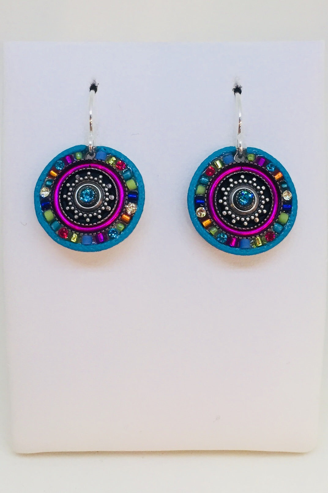 Crystal Roulette Earring-Multi Color