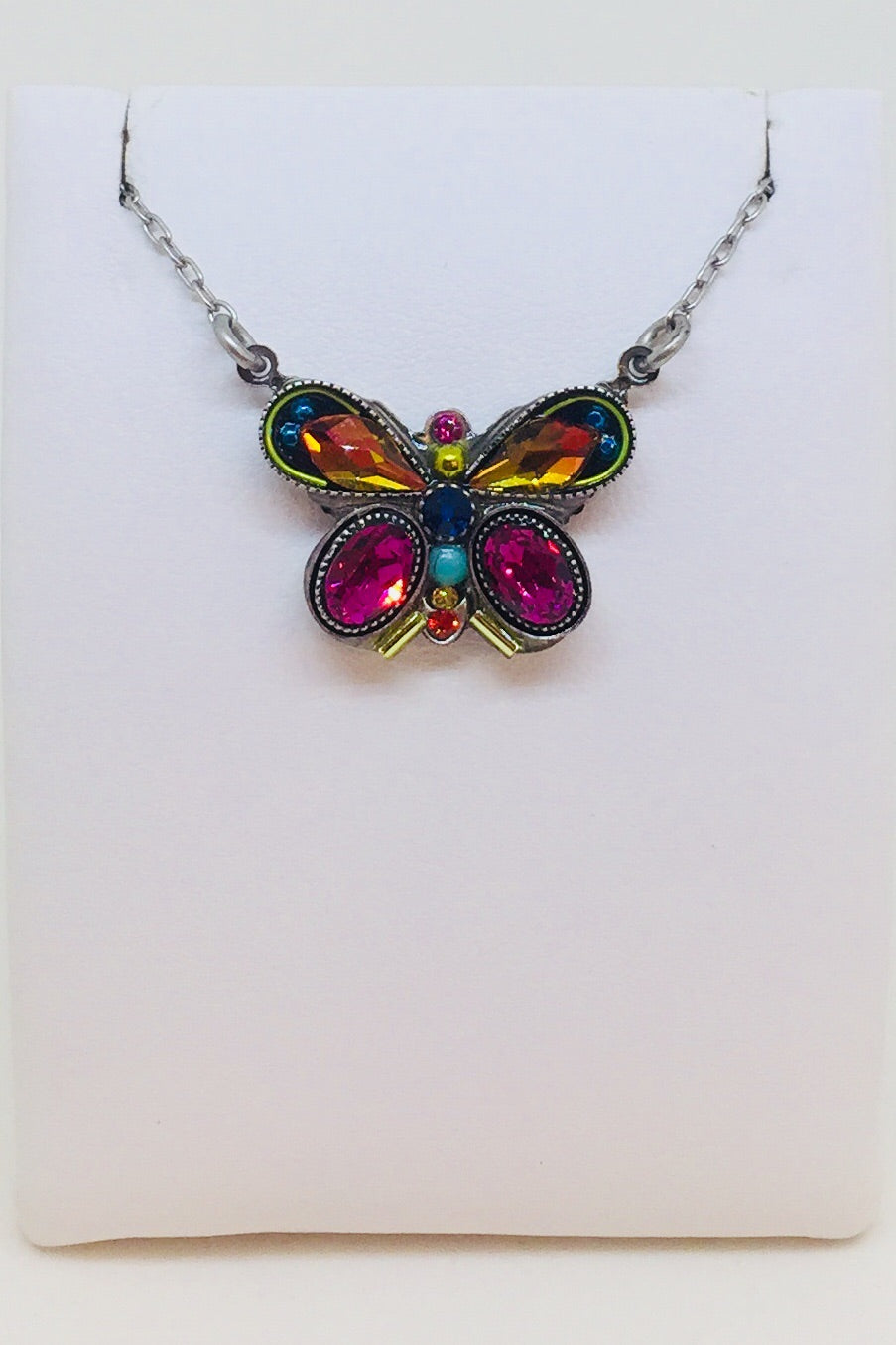 Butterfly Fancy Necklace-Multi Color