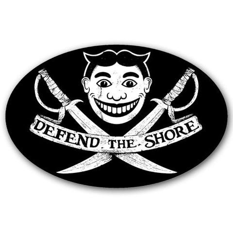 Defend the Shore Sticker - Shady Front Wholesale