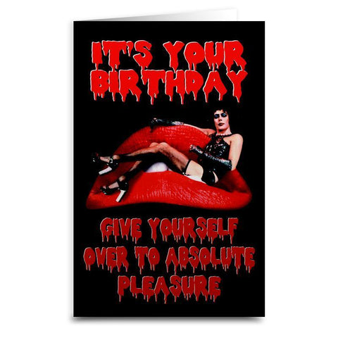 "Rocky Horror ""Absolute Pleasure"" Card - Shady Front Wholesale"