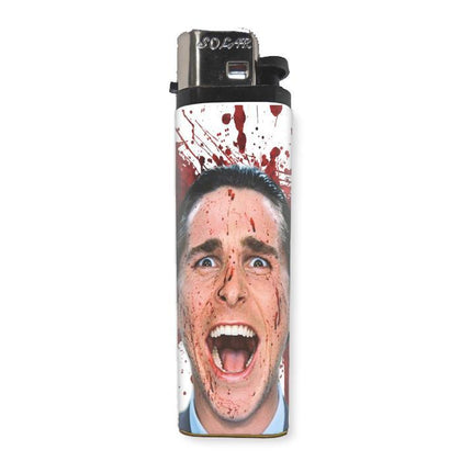 American Psycho Lighter - Shady Front / Wholesale Prints, Patches, Buttons, Greetings Cards, New Jersey Apparel, Stickers, Accessories