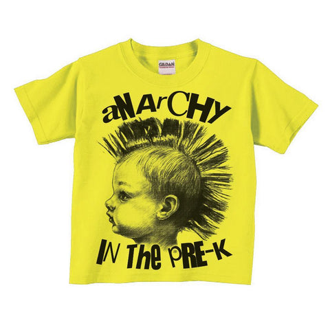 Anarchy in the Pre-K Kids Shirt - Shady Front / Wholesale Prints, Patches, Buttons, Greetings Cards, New Jersey Apparel, Stickers, Accessories