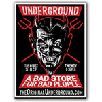 Bad Store for Bad People Sticker