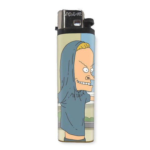 Beavis Lighter - Shady Front / Wholesale Prints, Patches, Buttons, Greetings Cards, New Jersey Apparel, Stickers, Accessories
