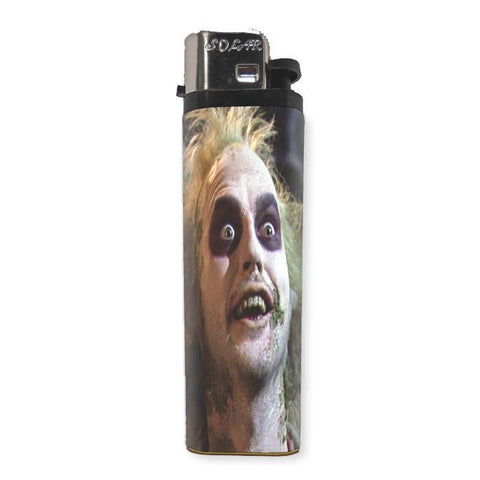 Beetlejuice Lighter - Shady Front / Wholesale Prints, Patches, Buttons, Greetings Cards, New Jersey Apparel, Stickers, Accessories