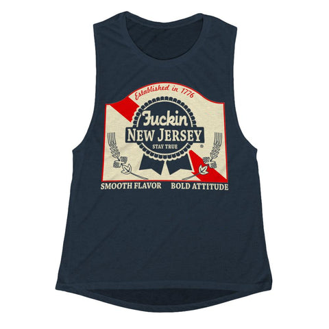Blue Ribbon Girls Tank - Shady Front / Wholesale Prints, Patches, Buttons, Greetings Cards, New Jersey Apparel, Stickers, Accessories