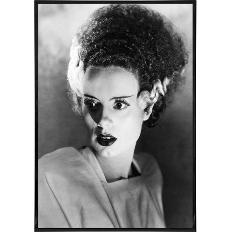Bride of Frankenstein Photo Portrait Print - Shady Front / Wholesale Prints, Patches, Buttons, Greetings Cards, New Jersey Apparel, Stickers, Accessories