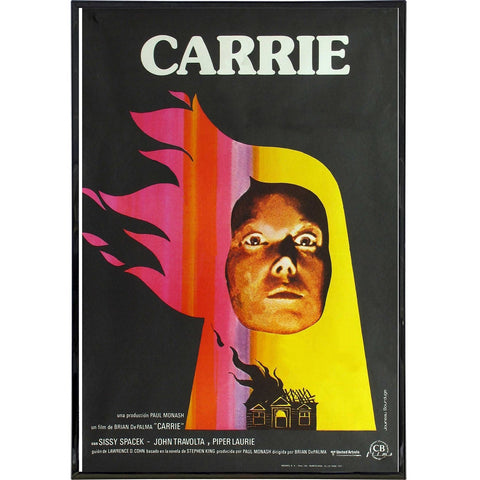 Carrie Film Poster Print - Shady Front / Wholesale Prints, Patches, Buttons, Greetings Cards, New Jersey Apparel, Stickers, Accessories