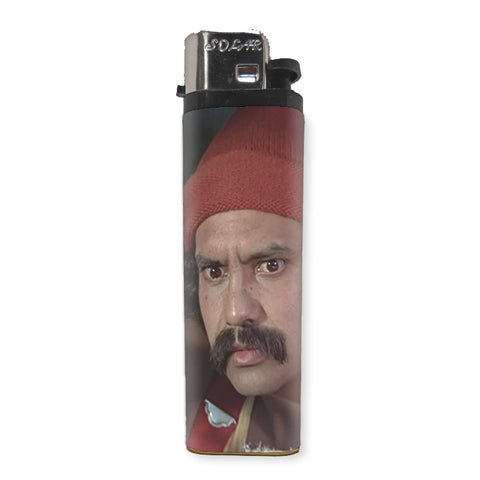 Cheech Marin Lighter - Shady Front / Wholesale Prints, Patches, Buttons, Greetings Cards, New Jersey Apparel, Stickers, Accessories