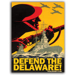 Defend the Delaware Sticker