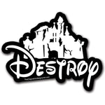 Destroy Sticker - Shady Front / Wholesale Prints, Patches, Buttons, Greetings Cards, New Jersey Apparel, Stickers, Accessories