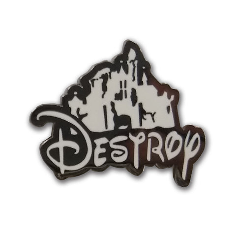 Destroy Enamel Pin