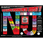 Escape from New Jersey Drinking Game - Shady Front / Wholesale Prints, Patches, Buttons, Greetings Cards, New Jersey Apparel, Stickers, Accessories