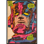 Galactus Comic Print - Shady Front / Wholesale Prints, Patches, Buttons, Greetings Cards, New Jersey Apparel, Stickers, Accessories